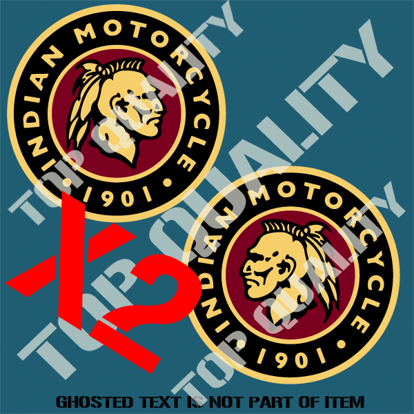 Indian motorcycle decal sticker