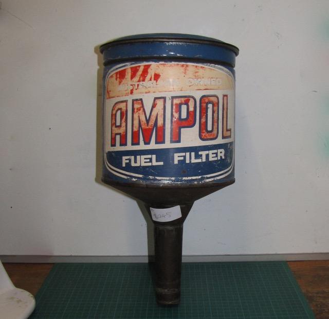 Ampol Fuel Filter Sticker Auto Tattoo Grafix